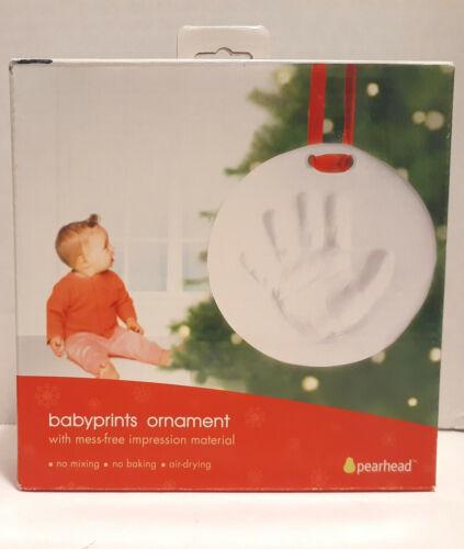 Pearhead Babyprints Ornament Baby's First Christmas Handprint Footprint Holiday