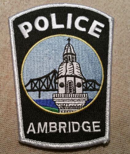 PA Ambridge Pennsylvania Police Patch