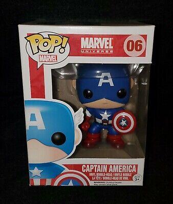 Funko POP! Marvel Universe **CAPTAIN AMERICA** #06 Vinyl Figure Marvel Captain Universe