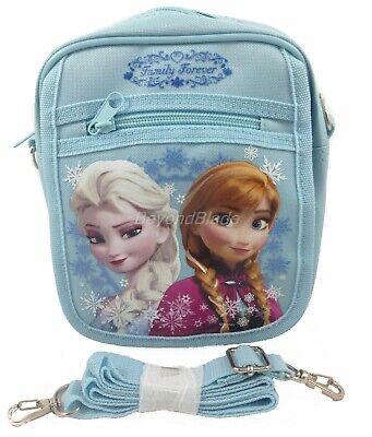 Disney Frozen Blue Camera Bag Messenger Shoulder Purse Bag Large 8