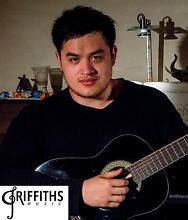 Guitar Lessons - Griffiths Music - Blacktown Westpoint - Bass Blacktown Blacktown Area Preview