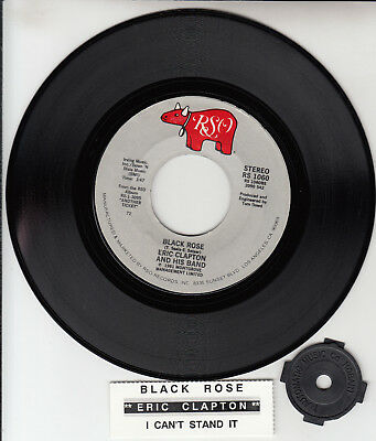 ERIC CLAPTON Black Rose & I Can't Stand It 7