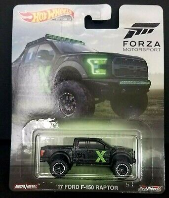 2019 Hot Wheels Premium ~ FORZA ~ '17 FORD F-150 RAPTOR X BOX 1