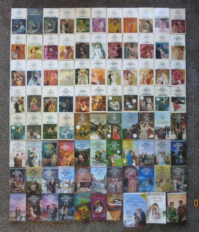 Lot of 87 Vintage Grace Livingston Hill books   Christian fiction
