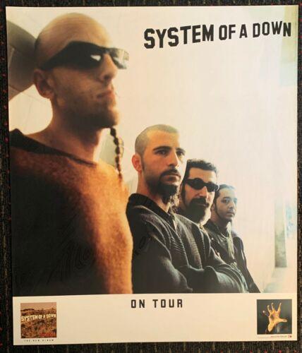 SYSTEM OF A DOWN Toxicity 24x28 promo poster nu-metal Serj Tankian AMERICAN 2001