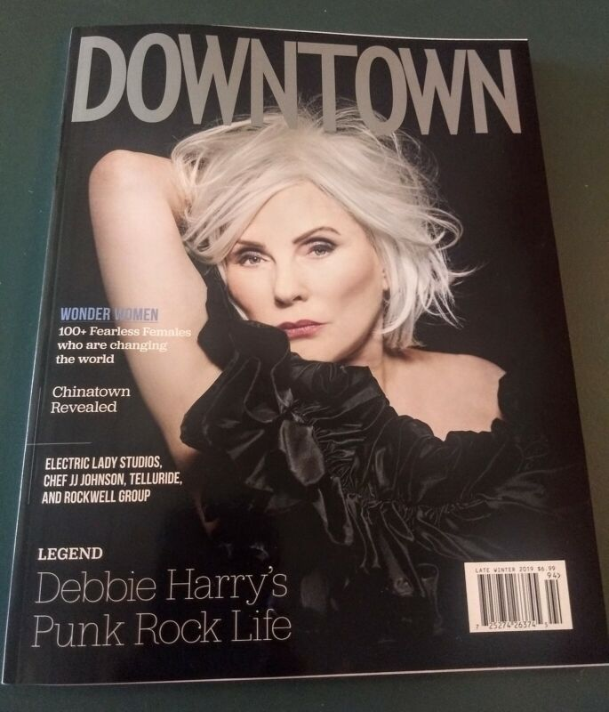 Blondie NYC Downtown Magazine New York Debbie Harry Deborah Harry glossy
