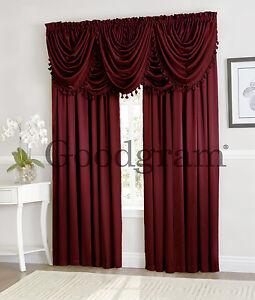 Burgundy Velvet Curtains Ebay