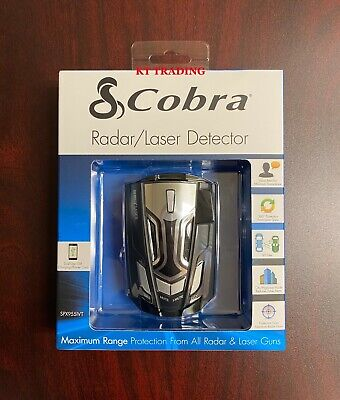 Cobra Radar Laser Detector, LED Icons / Voice / In-Vehicle Technology Filter