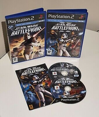 Star Wars Battlefront I & II - Sony Playstation 2
