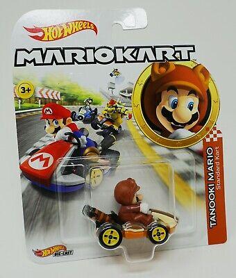 Hot Wheels Diecast Mario Kart Tanooki Mario NINTENDO