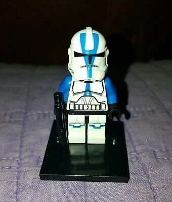 Authentic LEGO Star Wars 501st Legion Clone Trooper Minifigure sw445 75002 75004