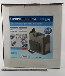WAECO TROPICOOL TF14 THERMAL ELECTRIC SOFT SIDE COOLER 14 LITER 12V LAND ROVER