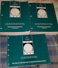 1998 - Lincoln Continental - Workshop/Service/Repair ...