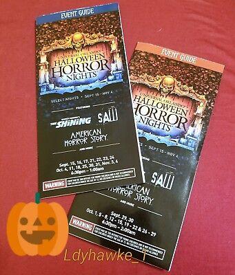 2 2017 HHN 27 Universal Studios Orlando Halloween Horror Nights Guide Bill & - Orlando Halloween 2017