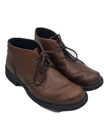 Clarks Chukka XTR Lite Brown Leather Lace Up Ankle Men's Shoes Size 8.5 Medium
