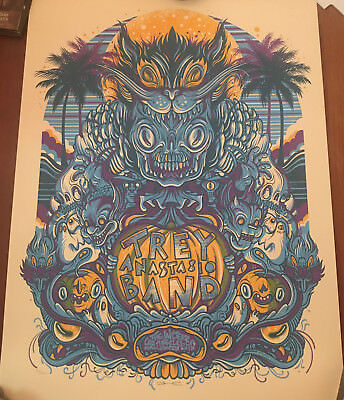 Trey Anastasio Poster Drew Millward Wiltern LA Halloween 10/31 2017 Print Phish