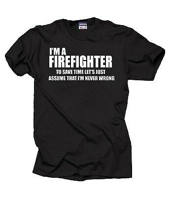 (I Am A Firefighter T-Shirt Gift For Firefighter Funny Profession Tee Shirt)