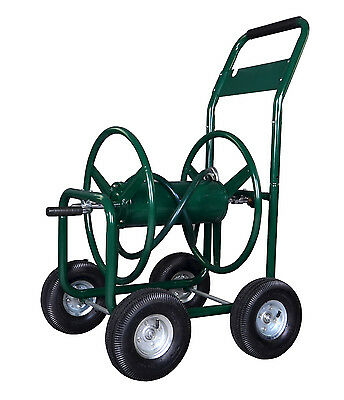 Green Water Hose Reel Cart 300 FT ...