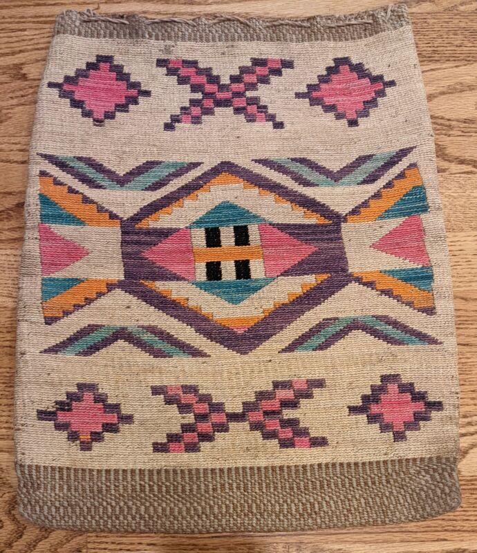 Large Nez Perce Cornhusk Bag