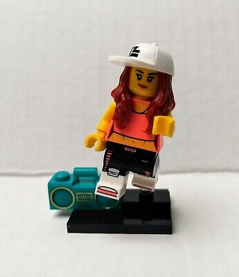 LEGO (71027) Series 20 Collectible Minifigure CMF - Breakdancer (Hip-Hop) Girl
