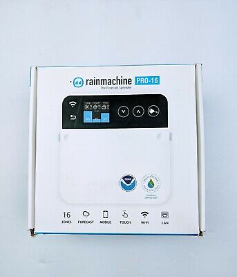 RainMachine Pro-16, Cloud Independent, Touch, 16 Zones Wi-Fi/Ethernet Irrigation