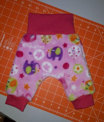 Babysachen Mädchen Neugeborene 50 Hose rosa Tiere