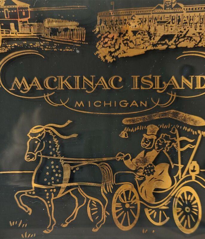 Ashtray Souvenir  Mackinac Island Michigan