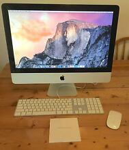 """21.5"""" Apple iMac (Late 2009) Excellent Condition Prahran Stonnington Area Preview"""