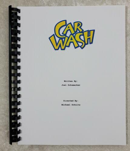 Car Wash Movie Script Reprint Full Screenplay Script 1976 Film Richard Pryor