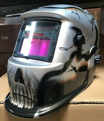 Ytbd Auto Darkening Weldinggrinding Helmet Hood1 Carrying Bag1 Clear Cover
