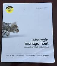 Strategic Management: Competitiveness & Globalisation 5th Ed. Peppermint Grove Cottesloe Area Preview