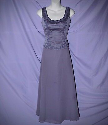 Princess Bodice - Long Formal Princess Dress - Lace Up Bodice - Maxi Gown in Dark Lavender w/ Wrap