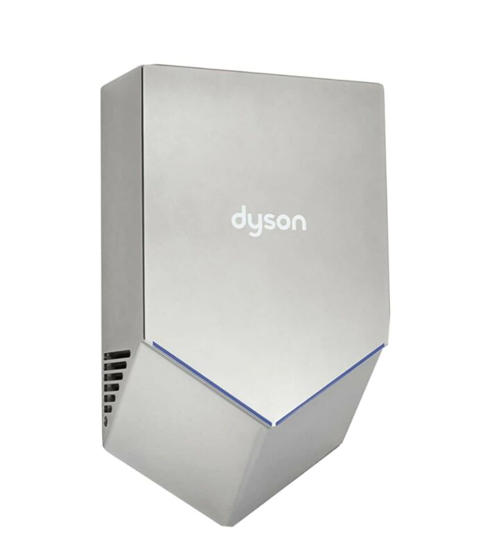 Dyson Hu02 Airblade, Yes Ada, 110 To 127 Vac, Automatic Hand Dryer