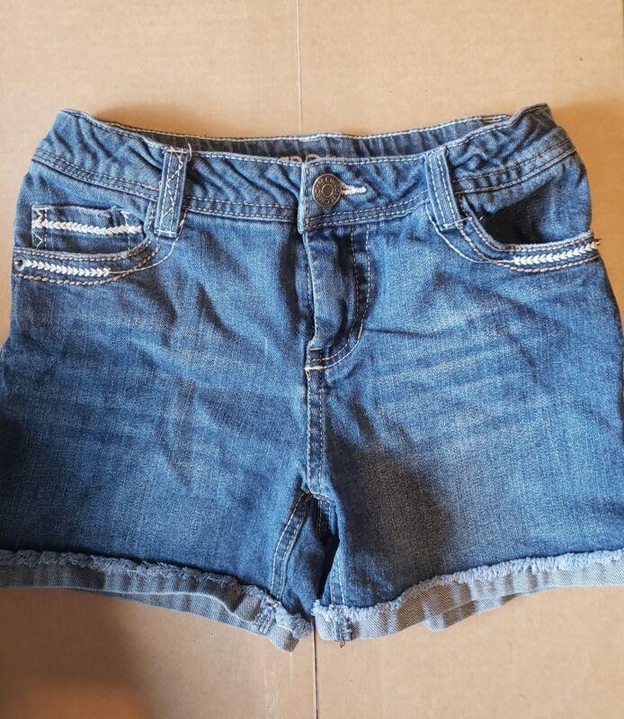 Cherokee Jean Shorts Girls 10/12 w/ adjustable waistband