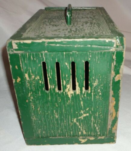 Vintage Racing Homing Pigeon Carrier Crate Cage Homemade