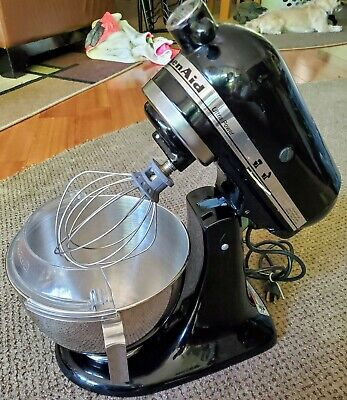 KitchenAid Ultra Power Plus 4.5 Quarts Tilt-Head Stand Mixer Black Countertop