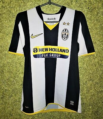 528d6788a32 JUVENTUS ITALY 2008 2009 HOME FOOTBALL SOCCER SHIRT JERSEY CAMISETA NIKE  SIZE S
