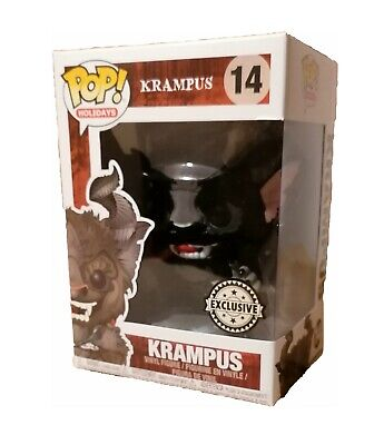 FUNKO POP! Krampus Flocked + EXCLUSIVE NEU