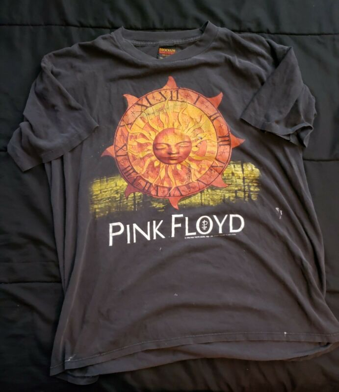 PINK FLOYD VINTAGE NORTH AMERICAN TOUR T-SHIRT 1994 BROCKUM