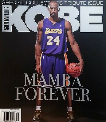 SLAM PRESENTS SPECIAL COLLECTOR'S ISSUE 2020, KOBE MAMBA FOREVER BRAND NEW