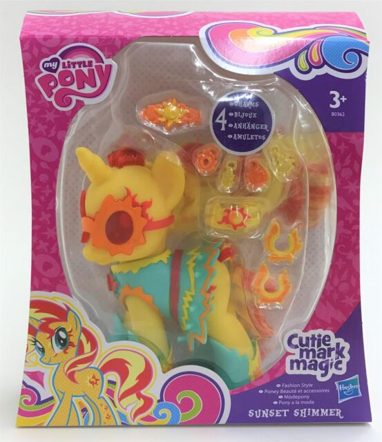 """My Little Pony B0362 Cutie Mark Magic Deluxe 5"""" Fashion Style Sunset Shimmer"""