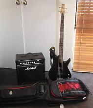 Ibanez Bass and Marshall Amp Craigie Joondalup Area Preview