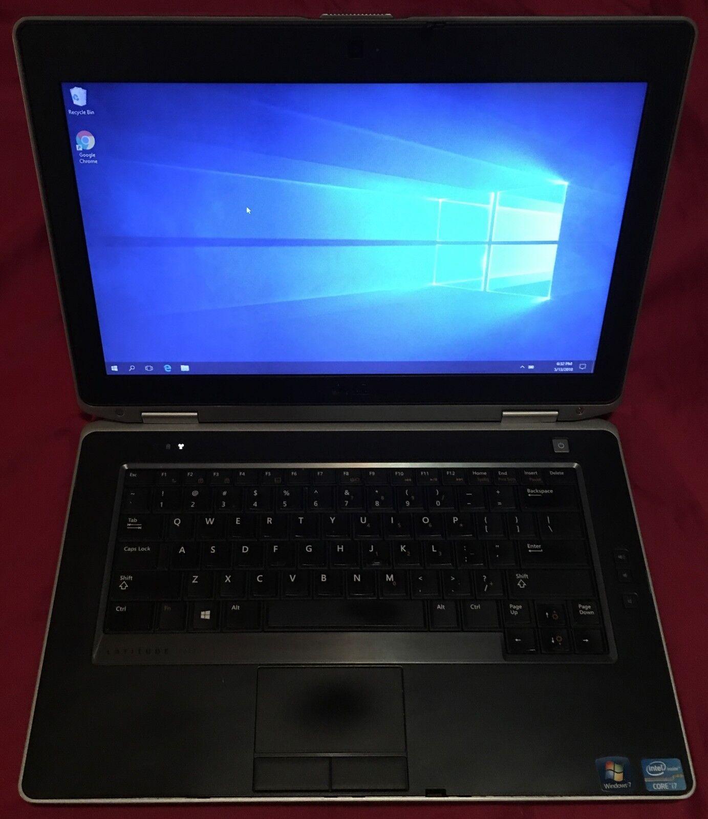 Dell Latitude E6430 i7-3520M @2.90GHz 8Gb RAM 320GB HDD Win 7 Webcam