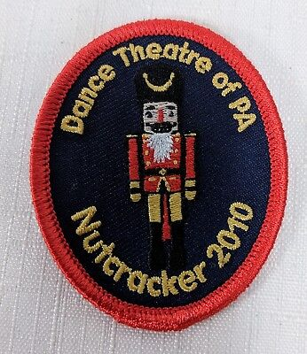 Dance Theatre of PA Pennsylvania Nutcracker 2010 Patch for sale  Shipping to India
