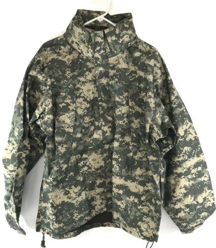 Military Extreme Cold Wet Weather Jacket, Gen III Level 6 Gore-tex ACU MEDIUM