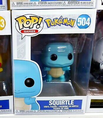 Pokemon Squirtle Pop Vinyl Action Figure Funko sword & shield Ash new game