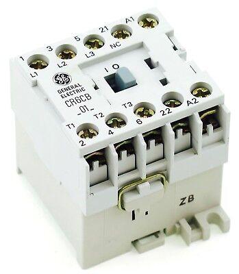 New Ge Miniature Din Rail Magnetic Contactor Cr6cbj3b 48vac Coil Ca4-9-01-48