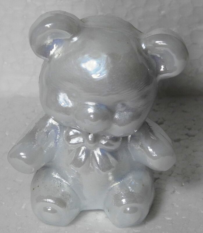 Boyd Glass Fuzzy the Bear Cotton Carnival