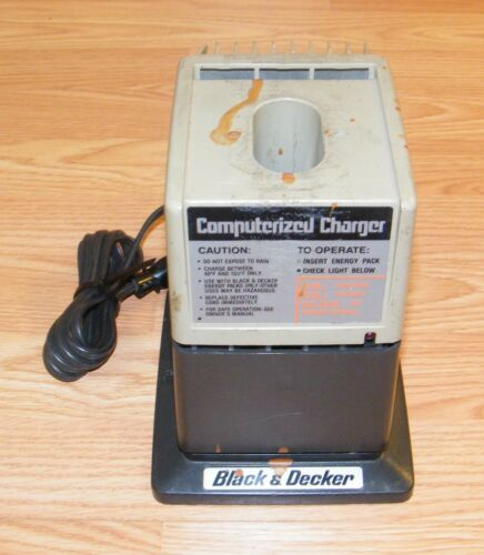 Genuine Black & Decker (98060) Computerized 60 Minute Battery Charger ONLY