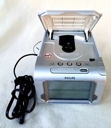Philips AJ3980 CD Alarm Clock Radio with Instruction Booklet